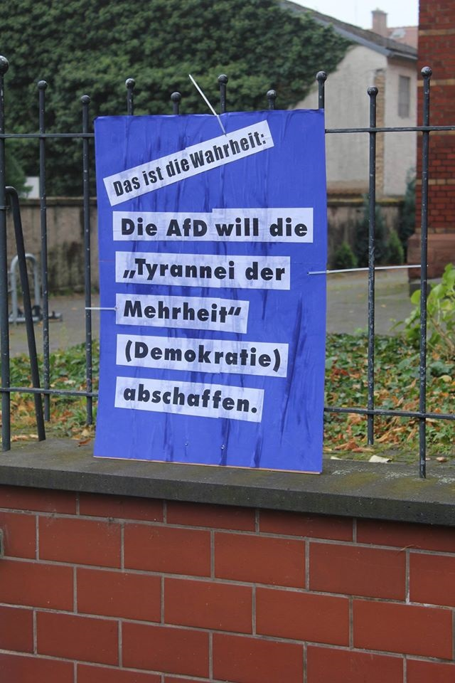 Read more about the article AFD-Wetterau: Karbener Naturfreunde werfen AfD raus