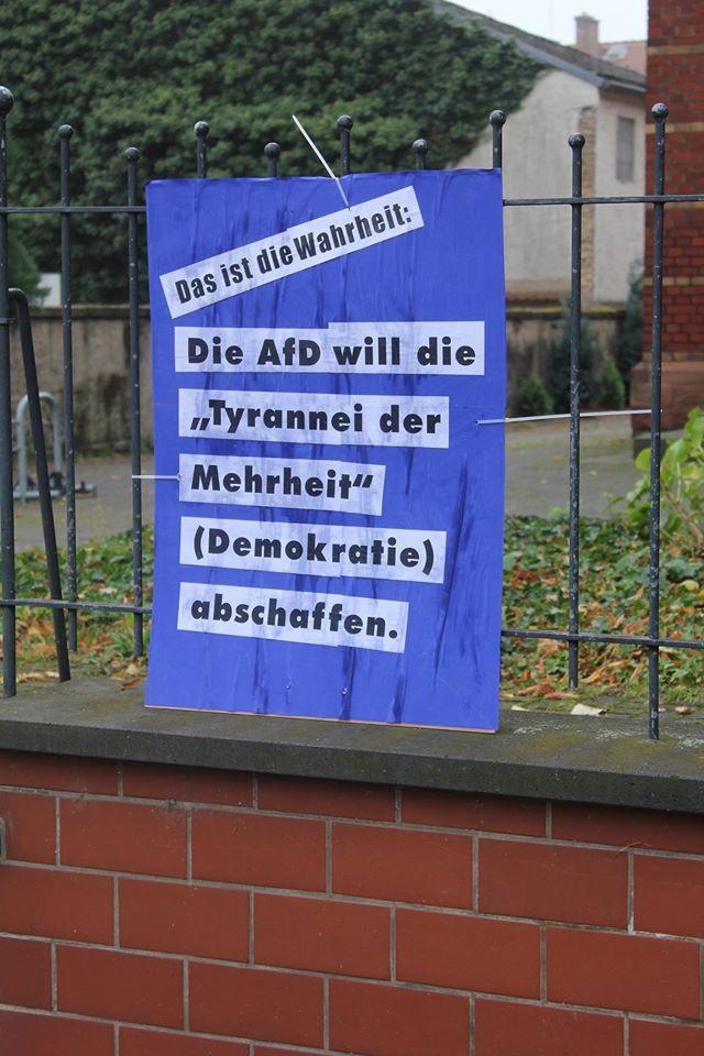 AFD-Wetterau: Karbener Naturfreunde werfen AfD raus