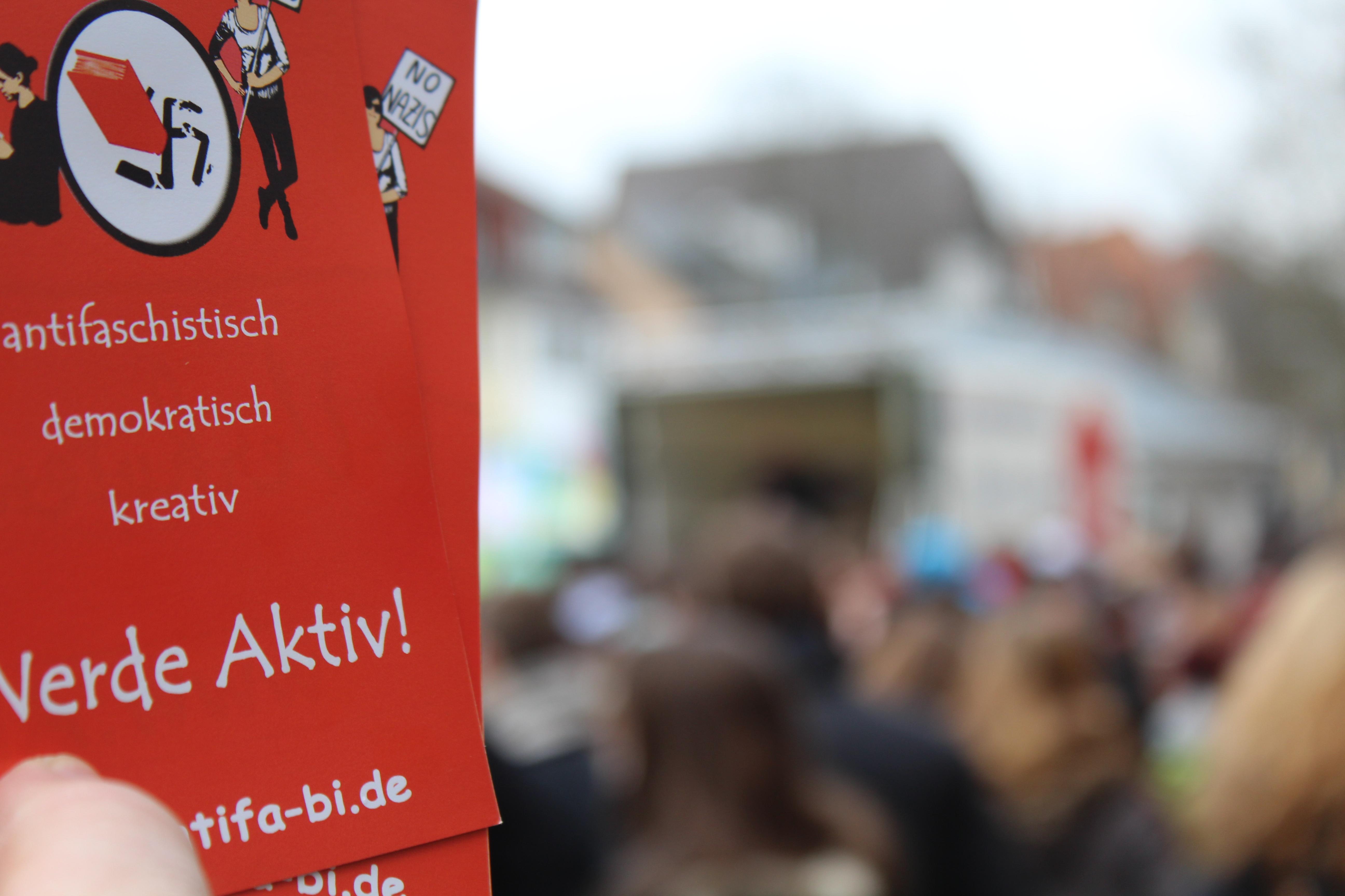 Friedberg: 500 Schüler*innen auf einer Demonstration für eine weltoffene Wetterau