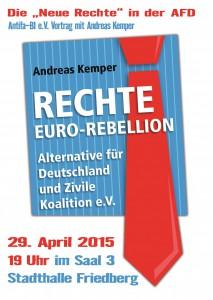 29.04 Vortrag zur AFD in Friedberg