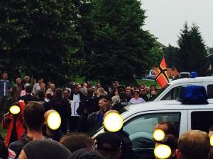 Pogromstimmung in Freital (Sachsen)