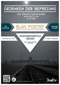 27.01: Der Befreiung des Vernichtungslagers Auschwitz gedenken