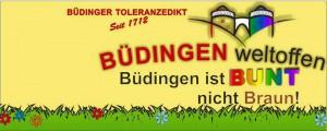 Büdingen: Protest gegen den Neonazi-Fackelmarsch am 30.01