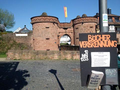 Rückblick: Gedenken an die Bücherverbrennung in Büdingen