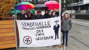 AfD Hessen tagt in Hofheim – Eine Partei auf strammen Rechtskurs