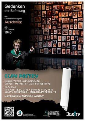 27.01 Poetry zum Auschwitz-Gedenken