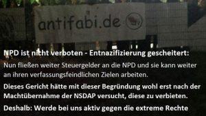 Büdingen: Nie wieder Faschismus – Büdingen zeigt Gesicht für Demokratie