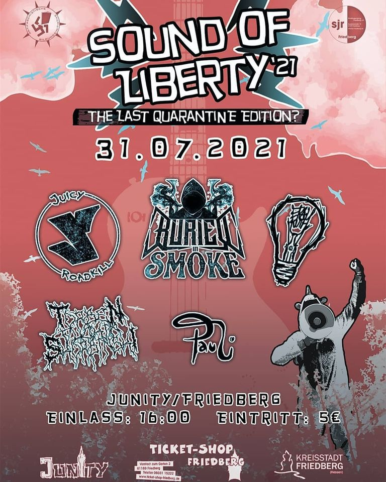 Read more about the article 31.07 Sound of Liberty 2021 – The Last Quarantine Edition?